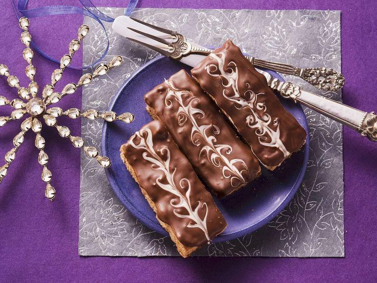 Honigkuchen mit Schokoladenglasur - smarter - Kalorien: 108 Kcal - Zeit: 30 Min. | eatsmarter.de