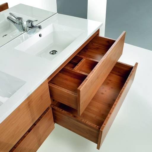Nipan bamboo bathroom furniture | MOSO Bamboo
