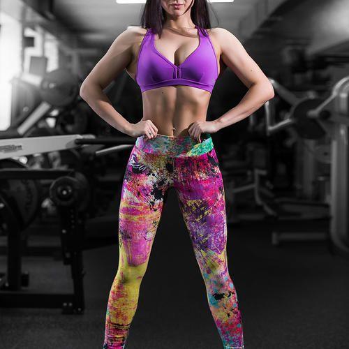 Купить леггинсы для фитнеса, йоги, бега, тренажерного зала. Доставка!