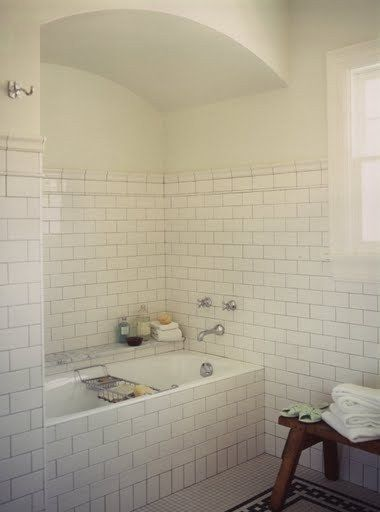 Contemporary Art Websites  best White Subway Tile Bathrooms images on Pinterest Room Home and Bathroom ideas