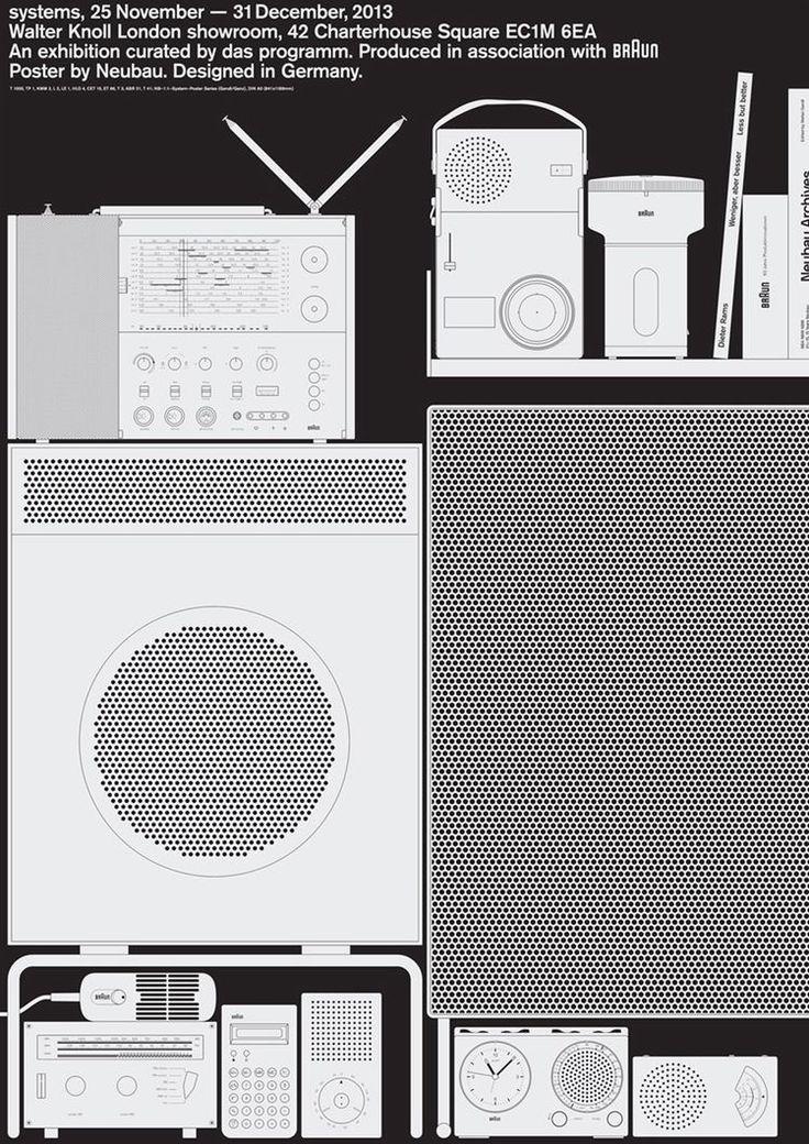 Neubau / Das Programm / Walter Knoll London / Systems / Form as System / Poster / 2013