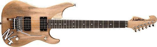 Washburn N4Authentic electric guitar w/case