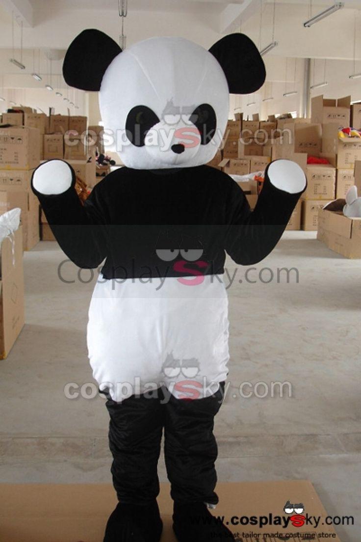 Adorable Panda Mascotte Costume Taille D'adulte_1