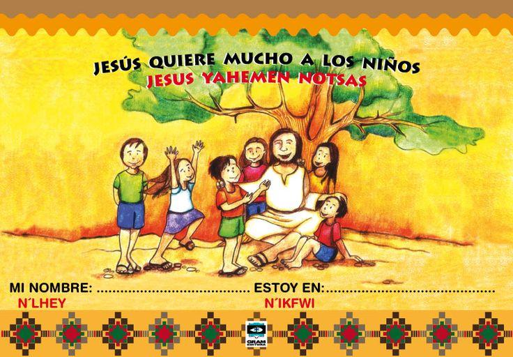 Libro para catequesis bilingüe español y wichi.