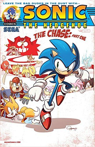 """Sonic the Hedgehog #258:   The SHATTERED WORLD CRISIS continues! """"The Chase"""" Part One: Uncle Chuck and Professor Pickle -- CAPTURED by the nefarious Dr. Eggman! It's up to Sonic and the Freedom Fighters to secure the precious kidnapped cargo from the Egg Train! But they're going to be in for the surprise of their lives when they discover that there are more than just badniks guarding it!"""