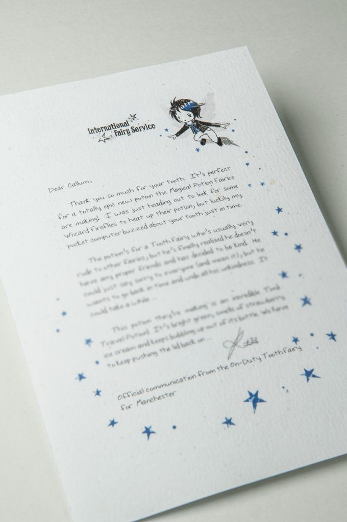 Request For Birth Certificate Letter%0A Tooth Fairy Letter No    NEW  Unconventional Tooth Fairy letters from super  cool Tooth