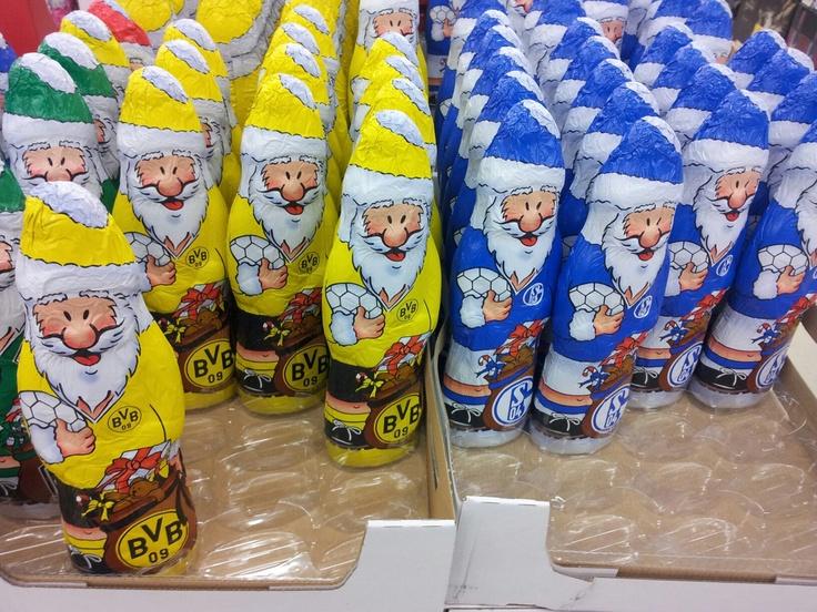 Haha, wenn die Weihnachtsmänner wüssten!