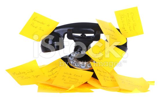 Phone Appointments royalty-free stock photo