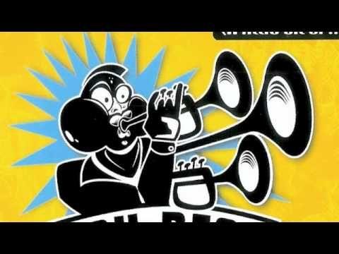The trumpet mix of Lou Bega's 1999 hi 'Mambo No.5'