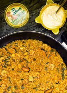 Mira que #receta de arroz para darse un homenaje en casa. ¿Te animas con la receta?