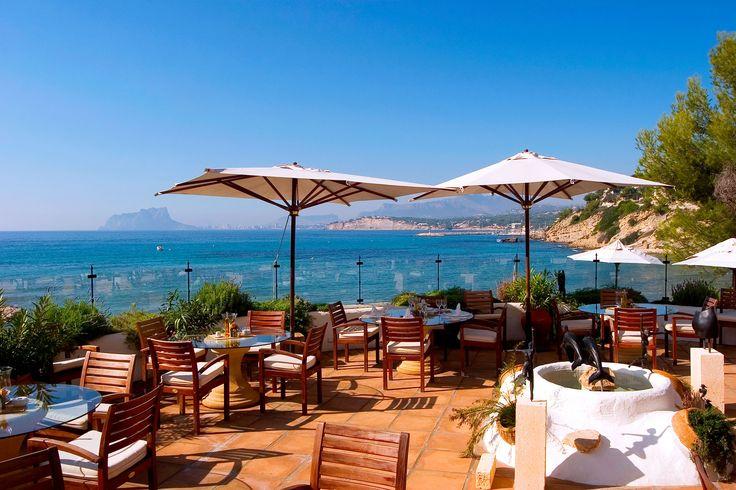 Le dauphin moraira alicante restaurante le dauphin - Restaurante el cielo alicante ...