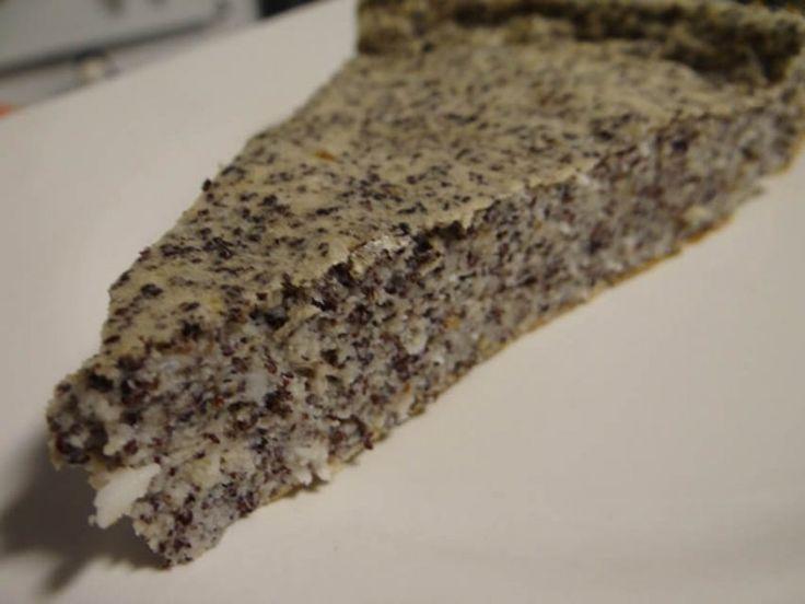 Low Carb Mohn-Kokos Kuchen | Low Carb Rezepte