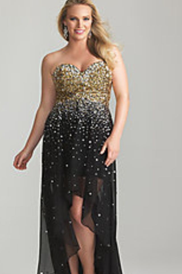 Plus size prom dress - from Prom Girl | Plus Size Prom, Bridesmaids ...