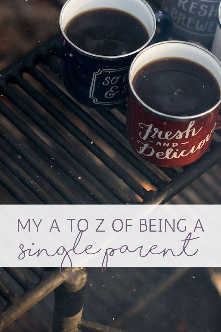 My A to Z of Being a Single Parent | Confessions of a Single Mum