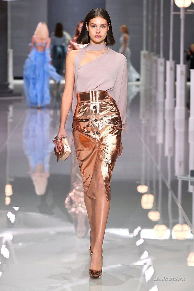 Женская мода: Ralph & Russo, весна-лето 2018