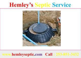 Septic Tank Inspection in Puyallup  When you are setting up maintenance services for your home and property, you might need to consider including a septic inspection. If your house is associated with a septic tank system, planning routine septic tank inspections amongst the most imperative strides that you can take to protect the security, https://www.hemleyseptic.com/