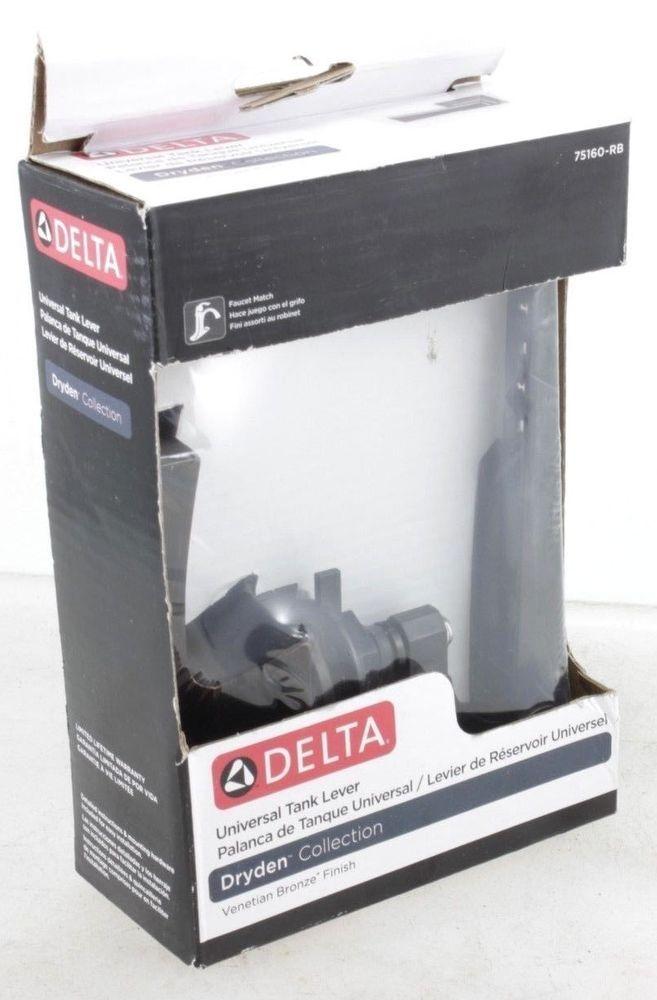 Delta Dryden Universal Toilet Tank Flush Trip Lever In Venetian