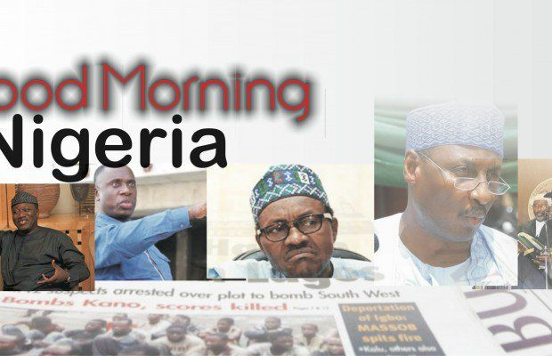 akusonhenry blog: Nigerian Newspapers: 10 things you need to know this Tuesday morning