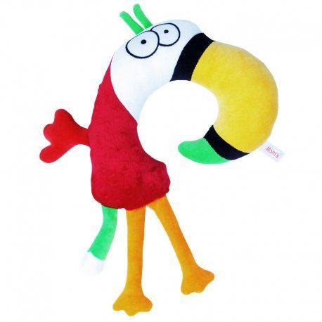 Kolejny rok szkolny już za nami, gratulujemy:)    Rogal Papuga od Hencz to świetna przytulanka, która zagwarantuje wygodne oparcie głowy.    Papugę zakłada się na kark dziecka, aby w czasie snu czy podczas jazdy jego głowa wygodnie lądowała na mięciutkim materiale, zamiast bezwładnie opadać.    Nie każda Papuga to potrafi:)    http://www.niczchin.pl/przytulanki-dla-niemowlat/3941-hencz-745-rogal-papuga.html    #hencztoys #rogalpapuga #zagłówek #niczchin #kraków