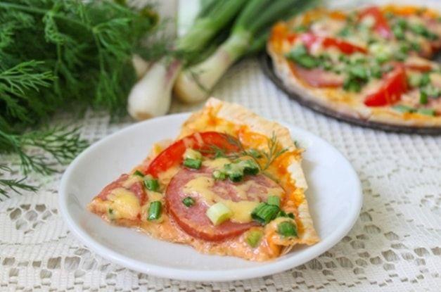 рецепт пиццы из лаваша – 01
