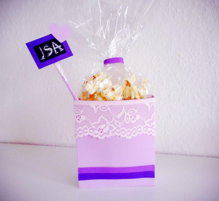 7 best popcornt ten selber basteln images on pinterest tutorials tips and we. Black Bedroom Furniture Sets. Home Design Ideas