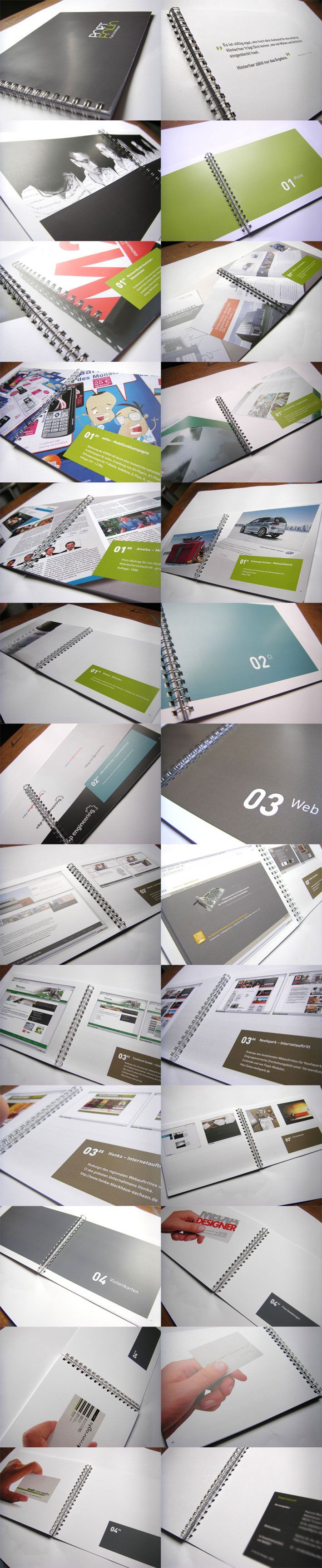 Portfolio Book by PaMe.deviantart.com