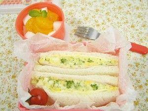 ハムとチーズとエッグサンドイッチの作り方