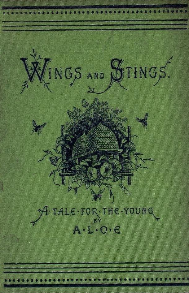 Wings & Stings. Just read about this. Aloe stands for a lady of England who published under a pseudonym because at the time women couldn't be published. Where did I read this...?