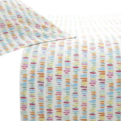 Pine Cone Hill Paintbrush 200 Thread Count 100% Cotton Sheet Set Size: Full