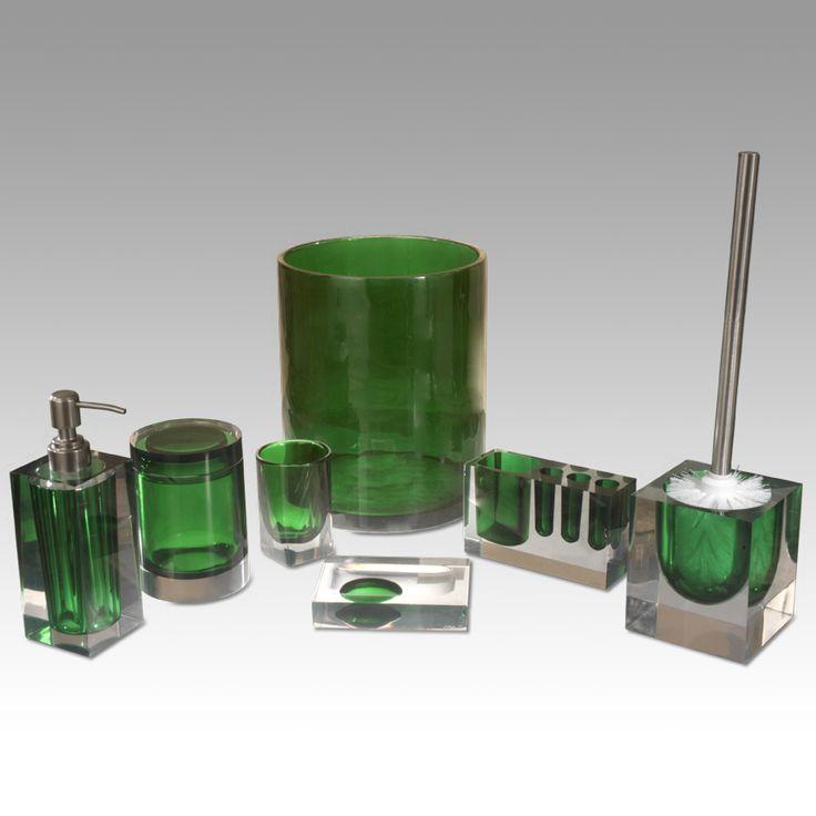 218 best images about green bathroom on pinterest for Complete bathroom decor sets