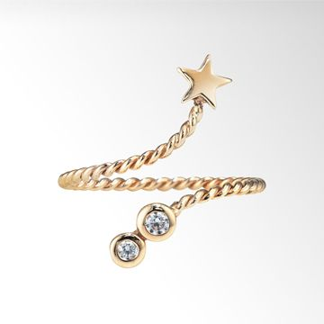STAR JEWELRY |NAIL RING STAR: ピンキーリング