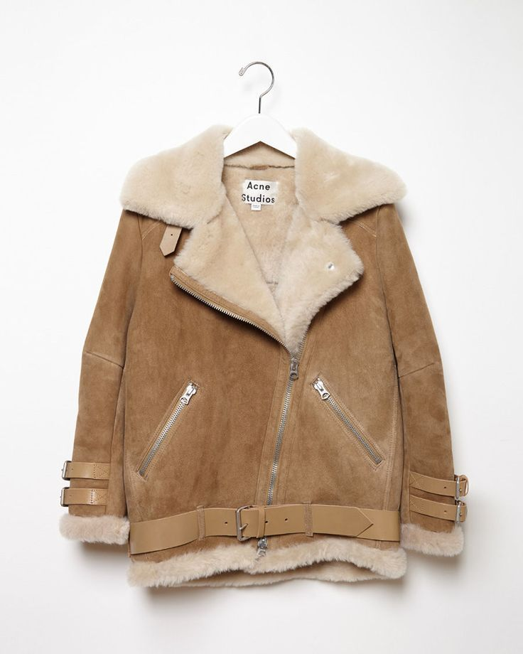ACNE STUDIOS | Velocite Oversized Shearling Jacket