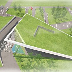 Rauf Raif Denktaş Anıt Mezarı, Müzesi ve Yakın Çevresi Tasarımı