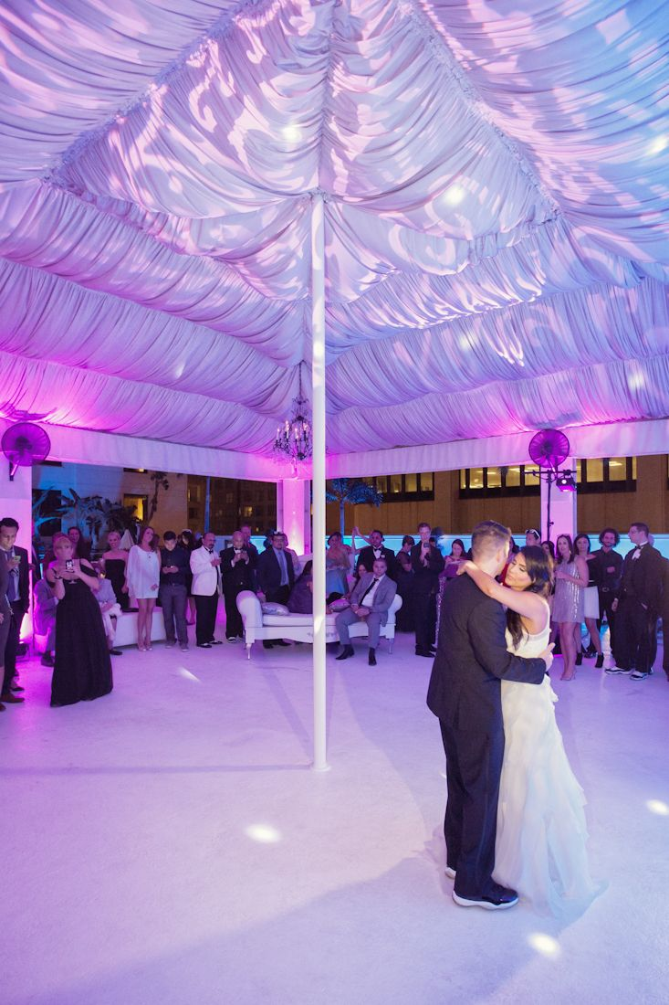 swanky i dos orlando wedding planner wedding lighting soundwave entertainment damask lighting