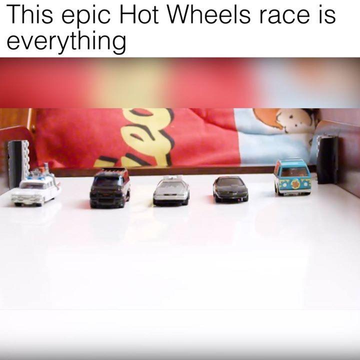 Hot Wheels aren't just for kids  Credit: Mark Rober