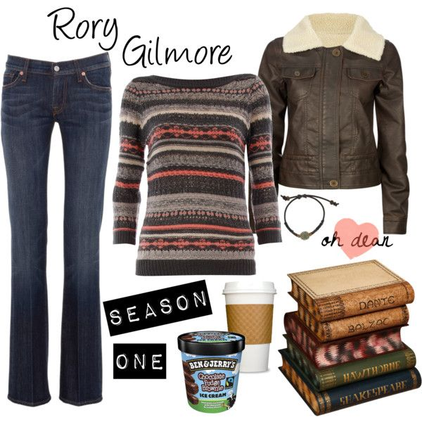 Rory Gilmore Season 1 - Polyvore | Styling !!!! | Pinterest | Rory gilmore