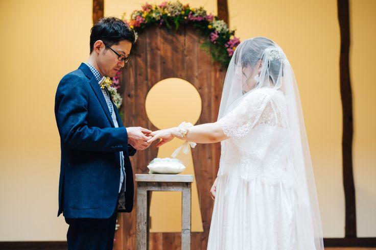 【挙式のお写真頂きました】|結婚式の新郎タキシード/新郎衣装はメンズブライダルへ