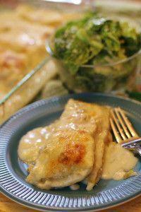 White Chicken Enchiladas. Voted one of the most popular recipes on Pinterest.....nearing 1 MILLION pins....enjoy!