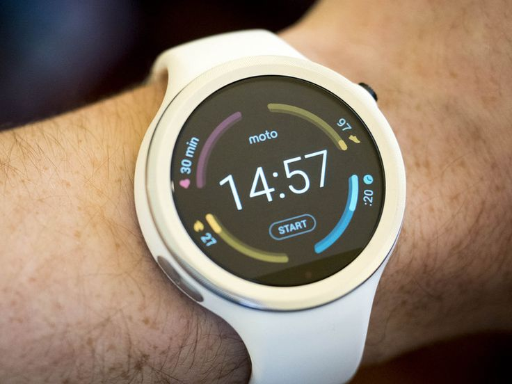 Motorola's expanding their smartwatch line with the fitness-oriented Moto 360 Sport — it's small, it's silicone, and it's made to take your beatings and your sweat in stride.