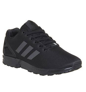 adidas zx flux triple black junior nz