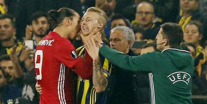 Quand Zlatan Ibrahimovic dégoupille contre Fenerbahçe