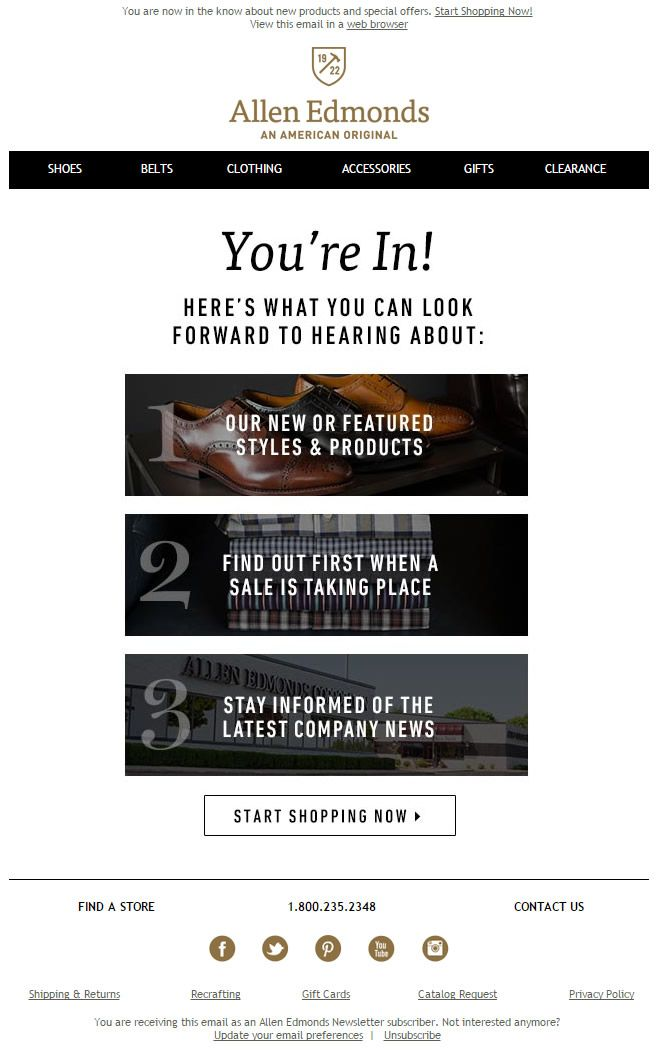 Best Welcome Emails Images On   Email Marketing
