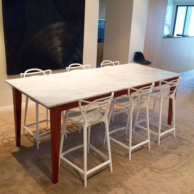 262 best eclipse handcrafted furniture images on pinterest for Custom made marble dining tables
