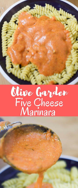 Copycat Olive Garden Five Cheese Marinara Recipe