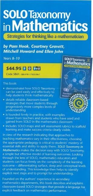 """Mitchell Ross Howard on Twitter: """"Stumbled across the add today. It is officially out. @arti_choke @Els3773 #SOLOTaxonomy #mathschatnz http://t.co/GVFupCTtzZ"""""""