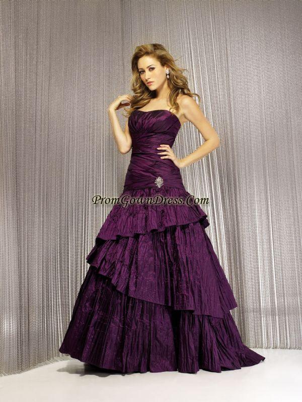 228 best blue purple wedding dresses images on pinterest purple wedding gown junglespirit Image collections