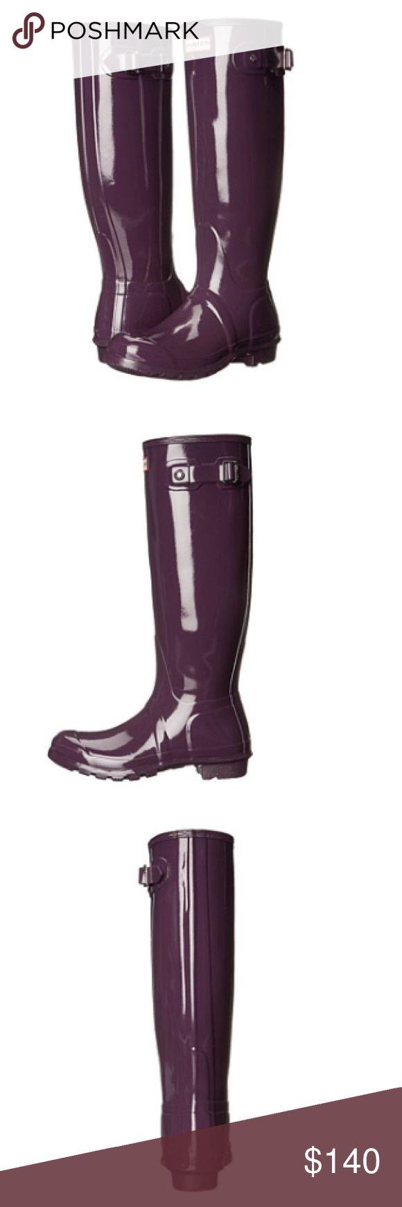 Brand new Hunter original gloss rain boots New in box Hunter Boots Shoes Winter & Rain Boots
