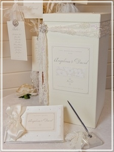 Angelic Creations Wedding Stationery - View more designs at: http://www.tyingtheknot.org/angeliccreations.htm