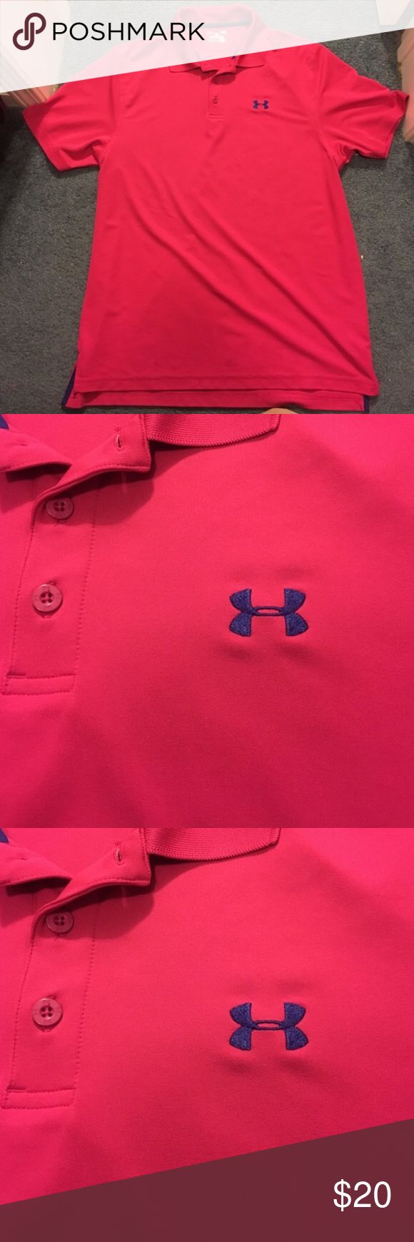 Under Armor Polo Only worn a few times Under Armor Polo Under Armour Shirts Polos