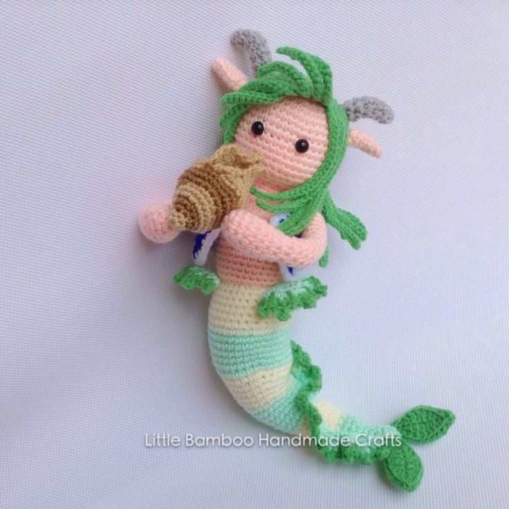 Capricorn amigurumi pattern by Little Bamboo Handmade